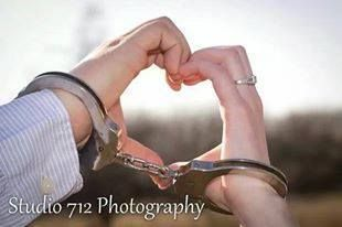 Police Wedding Handcuffs - Police Photography