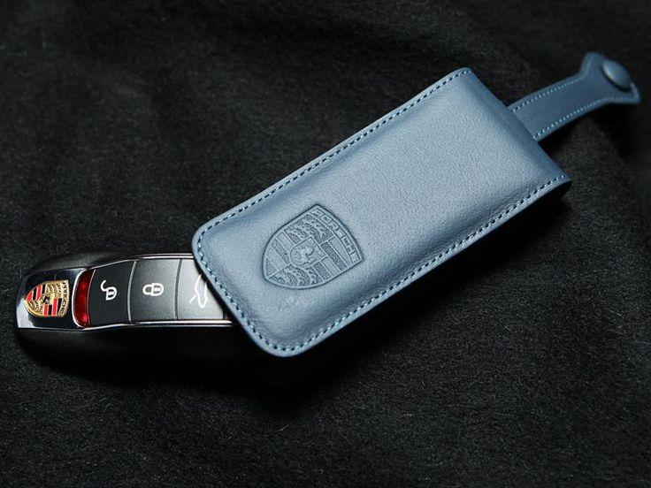 [ポルシェ 911 カブリオレ]ポルシェ(純正) Premium Leather Key Pouch / Case