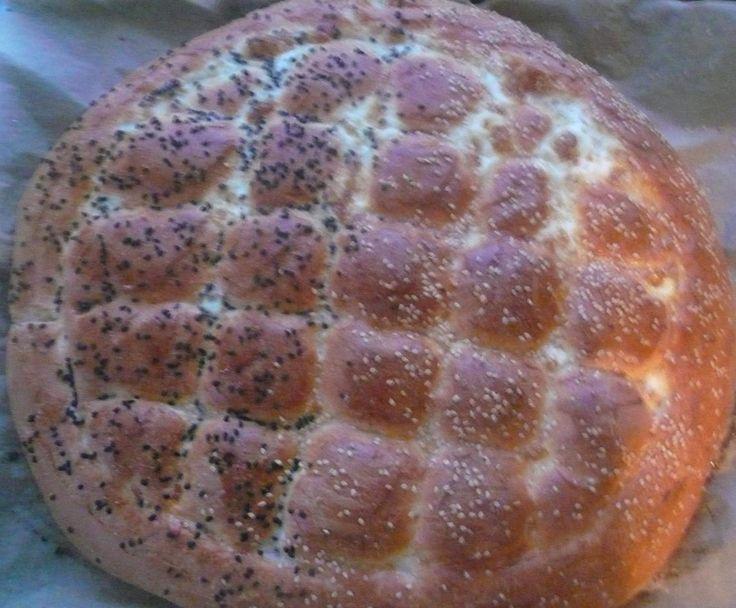 Rezept Türkisches Fladenbrot/Pide wie vom türkischen Bäcker von MondstckchenT31 - Rezept der Kategorie Backen herzhaft