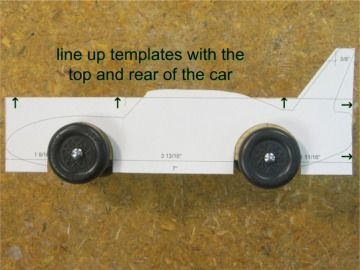 17 best ideas about pinewood derby templates on pinterest for Pinewood derby corvette template
