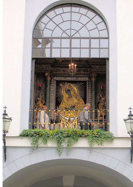 a Black Madonna from Lithuania