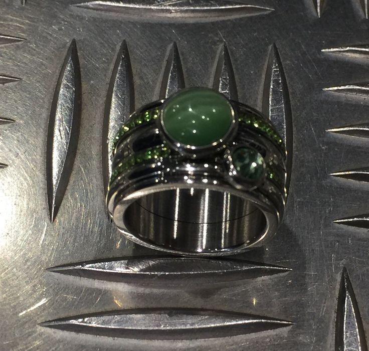 Nieuwe collectie iXXXi ringen & Blue Line Zeewolde #green #spring #ring
