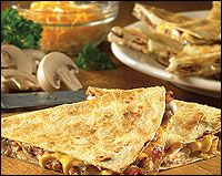 Outback Steakhouse Copycat Recipes: Alice Springs Chicken Quesadillas