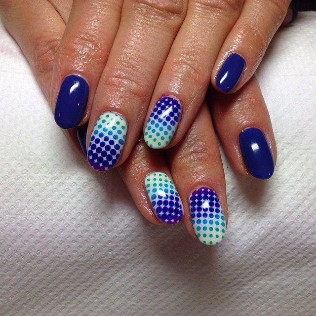 Drukowanie wzorów na paznokciach ⭐️ #manicure #nails #nailo #print  #salonurody #barberwilanow
