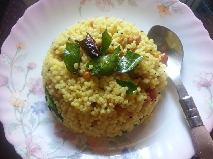 Lemon rice is a simple and easy one-pot dish that's loved by all. It is perfect for office lunch boxes and picnics. In this recipe, I have replaced rice with foxtail millet (thinai). Foxtail millet is pale yellowish in color and rich in proteins, betacarotene and other minerals. Since the fibre cont