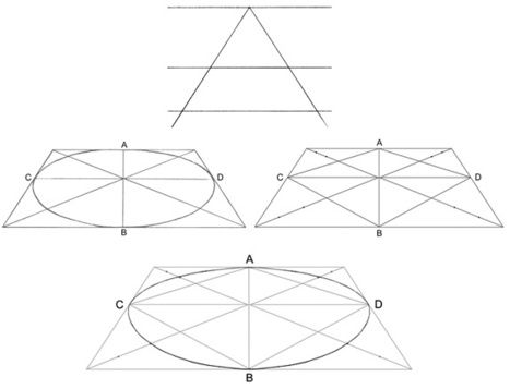 how to draw isometric circle