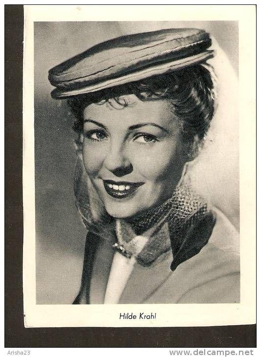 Vintage photo of Hilde Krahl