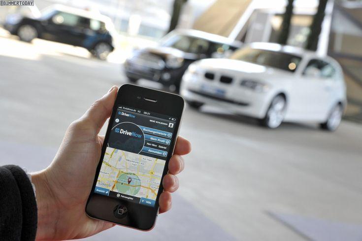 car sharing smartphone app
