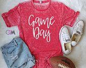 GAME DAY Shirt, Football Shirt, Baseball Mom Shirt, Baseball Shirt, Game Day Baseball Shirt, Football Mom Shirt, College Football