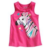 18 M ~ 6 T nuevo 2015 de calidad 100% de la marca de algodón ropa de bebé niñas niños ropa niños Toddler camisetas Tees camisetas…