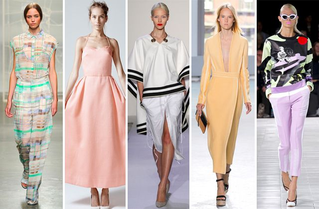 The Top 10 Trends from New York Fashion Week - curved cut tees