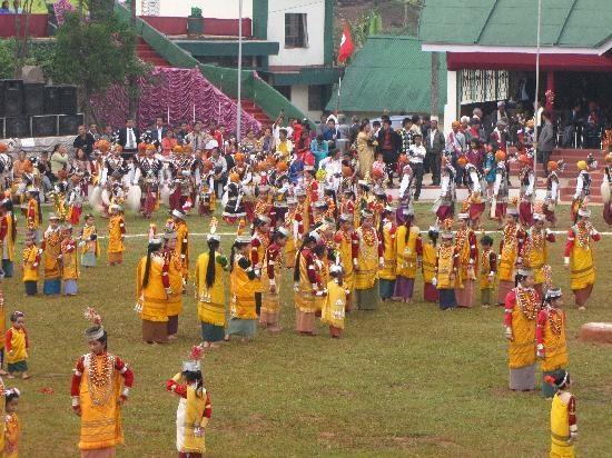 The Khasi spring festival