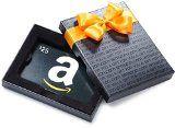 #10: Amazon.com $25 Gift Card in a Black Gift Box (Classic Black Card Design)