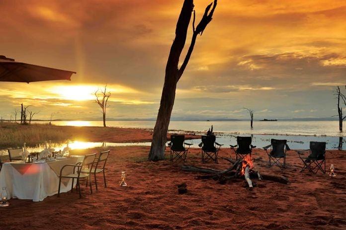 #travel #holiday #lake #kariba #bumi #sunset