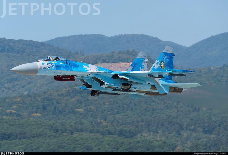 Photo of 58 - Sukhoi Su-27 Flanker - Ukraine - Air Force