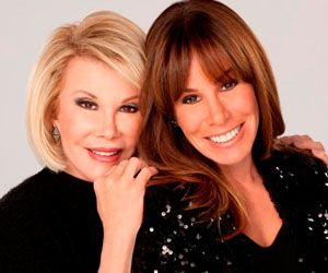 Comic legend Joan Rivers and her daughter Melissa dish on the new season of their We tv reality show, Joan Knows Best. #wendyshow