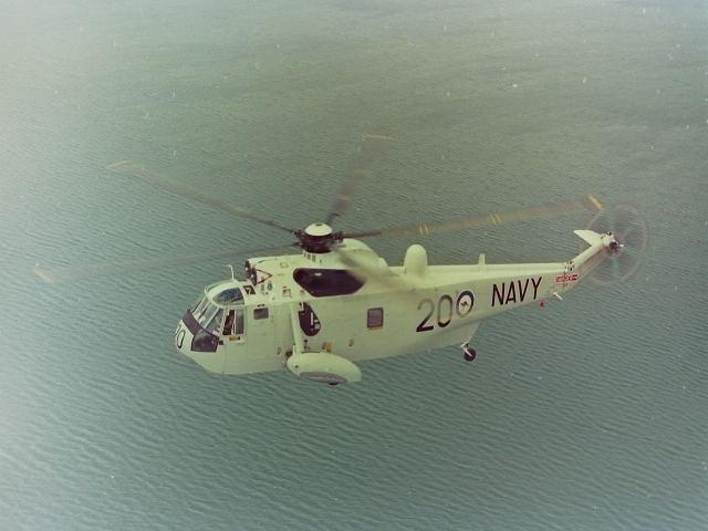 Westland Sea King Mk50, Morton Bay QLD = October 1985