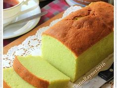 Resep Condensed Milk PANDAN POUND CAKE 5 Bahan Yummy oleh Tintin Rayner - Cookpad