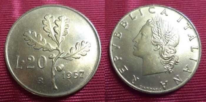 In Italia Sono State Coniate Due Differenti Monete Da 20 Lire