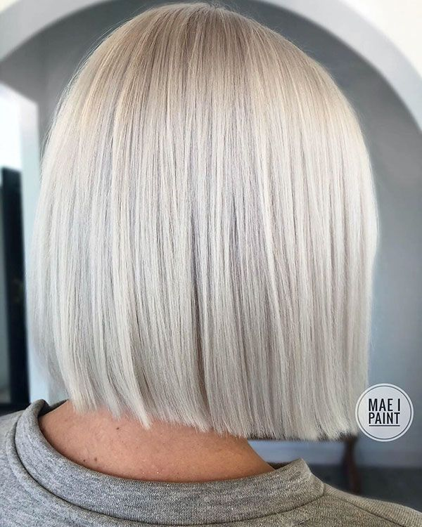 34 Gorgeous Ways To Style Short Hair Short Blunt Hair Hair Styles Thick Hair Styles