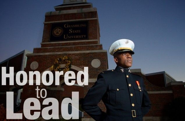 Graduate Joins Distinguished Ranks of Marine Officers