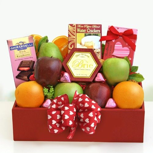 42 best valentines gifts baskets images on pinterest valentine valentines fruit basket