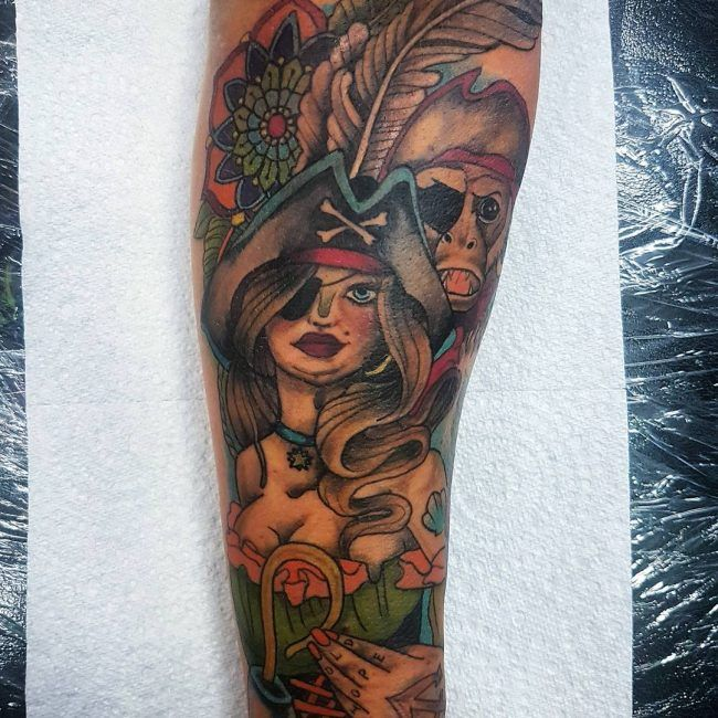55 Incredible Indian Tattoo Designs Meanings: 25+ Best Ideas About Pirate Tattoo On Pinterest