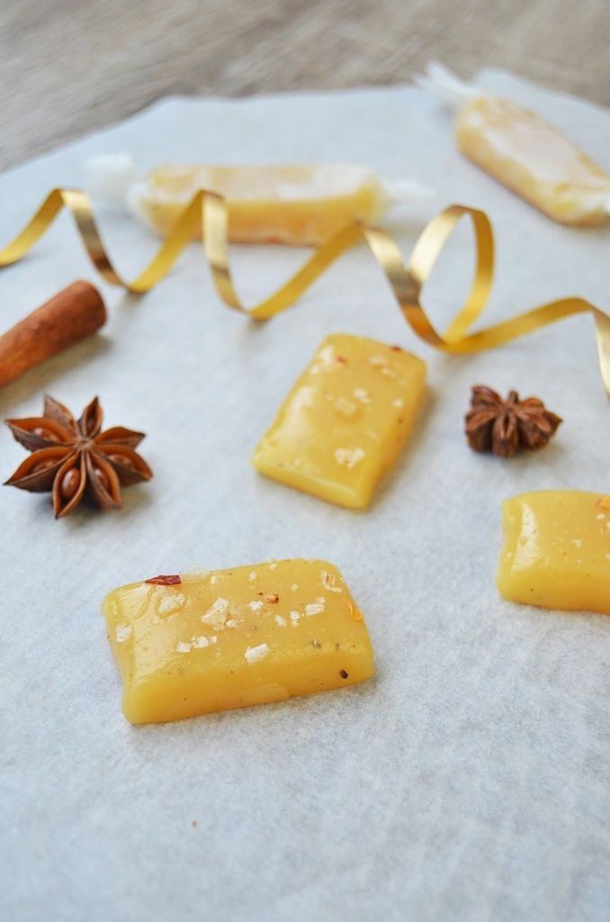Chili and salt toffee