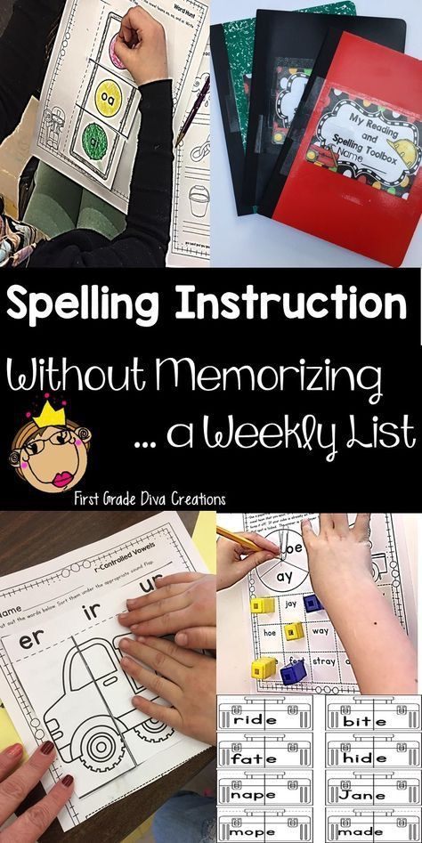 Ditch the weekly spelling list this year! I was so frustrated with how my first-graders were performing on our weekly spelling tests. Did they remember the words the next week? Did they spell our spelling words correctly while writing? My students sure did not. If you have this issue try teaching the 1st-grade spelling and phonics rules with these fun games and literacy centers. Instruction is even more powerful when you add the hands-on, interactive, multi-sensory suggestions! Buy today!