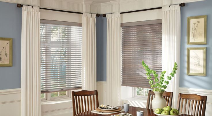 New Parkland Classics Wood Blinds With Literise By Hunter