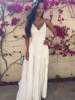 Maroon Halter Maxi Dress Hippie Boho People Chic Long White Lace Crochet Backless Beach Party Wedding Bohemian Sundress Clothing