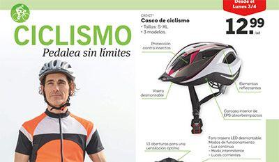 Pon a punto la bicicleta con Lidl del 3 al 4 de Marzo -  Pon a punto tu bicicleta. A partir del 3al 4 de marzo de 2017 Soporte De Taller por 29,99€/ud e Inflador de pie 8,99€ Casco de ciclismo – 12,99 Guantes de ciclismo 4,99€ Calcetines de ciclismo 2,99 VER OFERTAS EN AMAZON     #CatálogosLidl, #Folletosonline  #Crivit Ver en la web : https://ofertassupermercados.es/pon-a-punto-la-bicicleta-con-lidl-del-3-al-4-de-marzo/