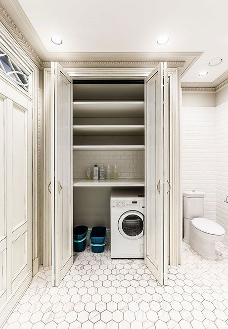 Risultati immagini per bagno e lavanderia lavanderia for Idee bagno piccolo