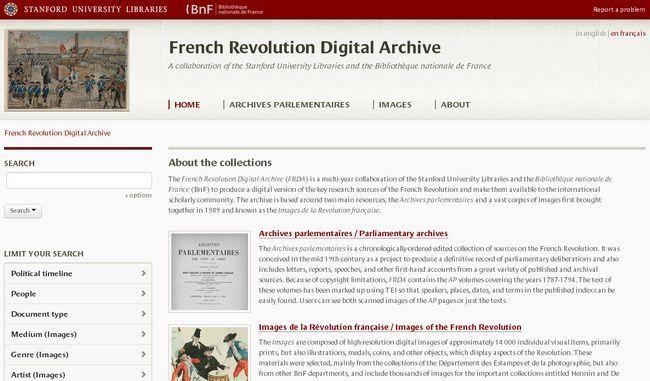 La Universidad de Stanford y la Biblioteca Nacional de Francia publican 14 mil imágenes gratis de la Revolución Rrancesa