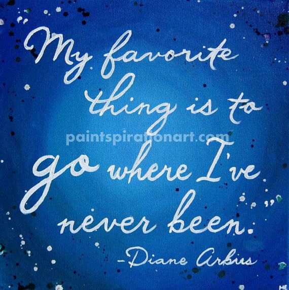Quote Art Travel Wall Art Canvas Quote Painting by Paintspiration