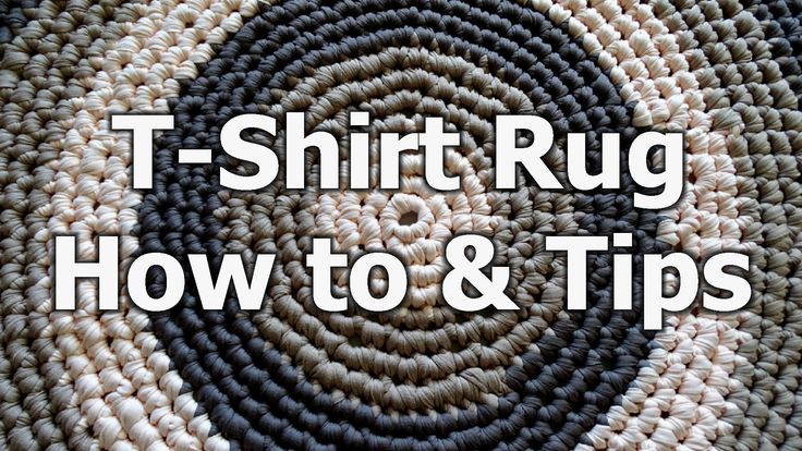 Crochet tutorial that teaches you how to make a round rug using T shirt yarn. It also teaches you what to look for and how to make adjustments if you want to...