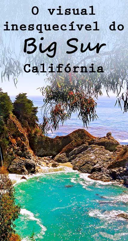 Viajando de carro pela Highway 1 de Carmel até Santa Barbara, na Califórnia, é possível ver lindas paisagens. Dicas de como chegar ao Julia Pfeiffer Burns State Park.