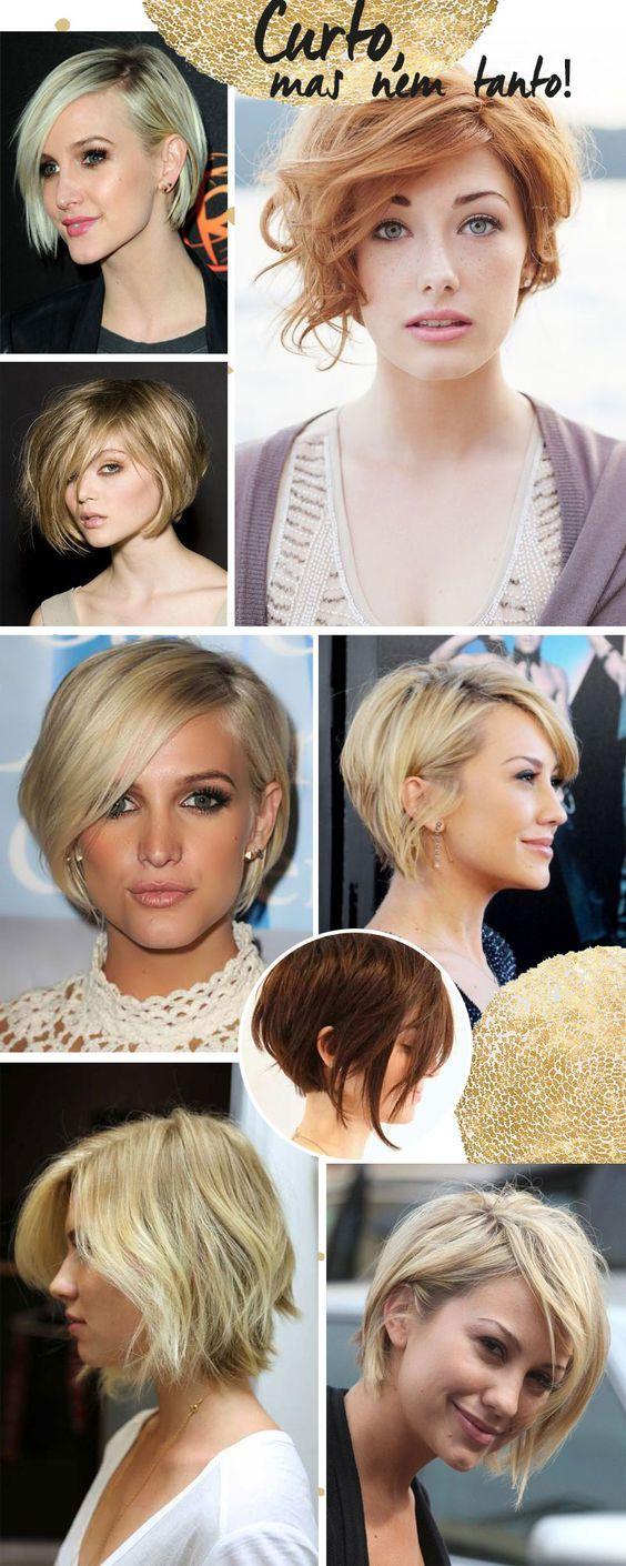 Corte de cabelo curto pra inspirar