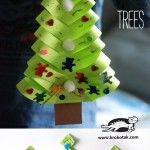 DIY+Paper+Christmas++Trees - kindergarten and up s/b able to do with minimal assistance
