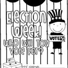 Let students become a part of the voting process with this freebie! All week, you can read Clifford for President, Duck for President, My Teacher f...