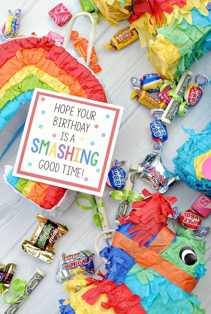 Creative Birthday Gift Idea with Mini Piñatas | Fun Birthday