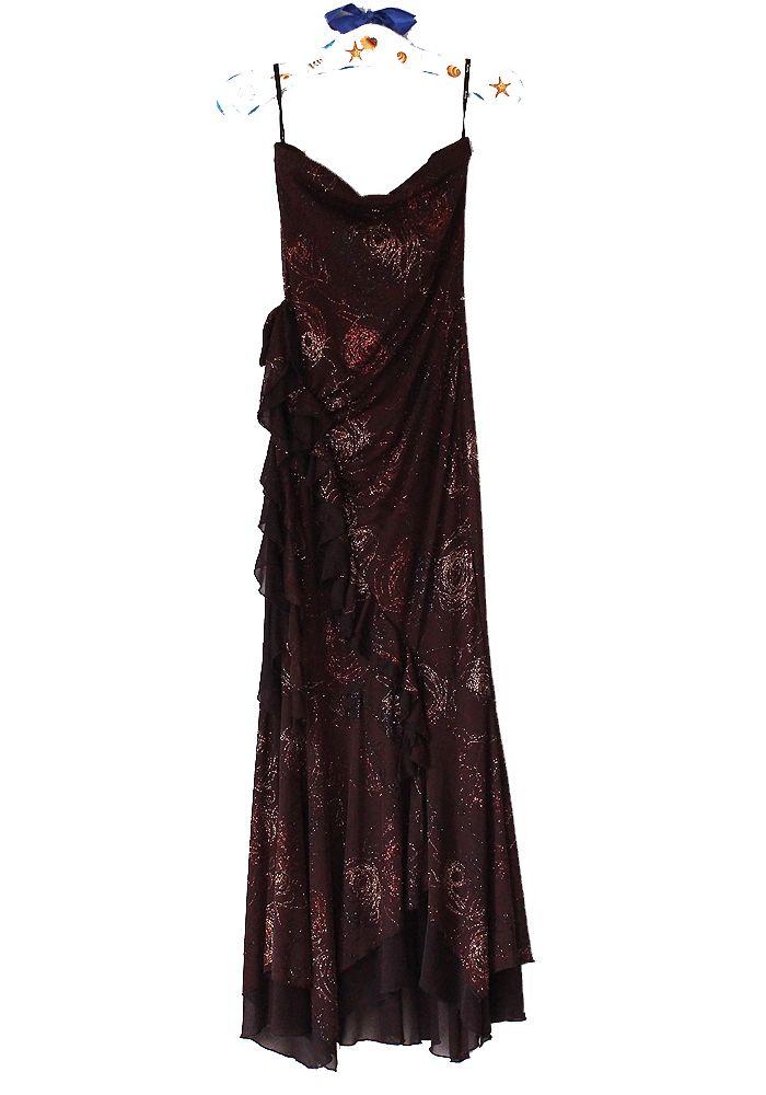 KITTY Sexy Classic Brązowa Sukienka Malowana 36/S (7090156699) - Allegro.pl - Więcej niż aukcje.
