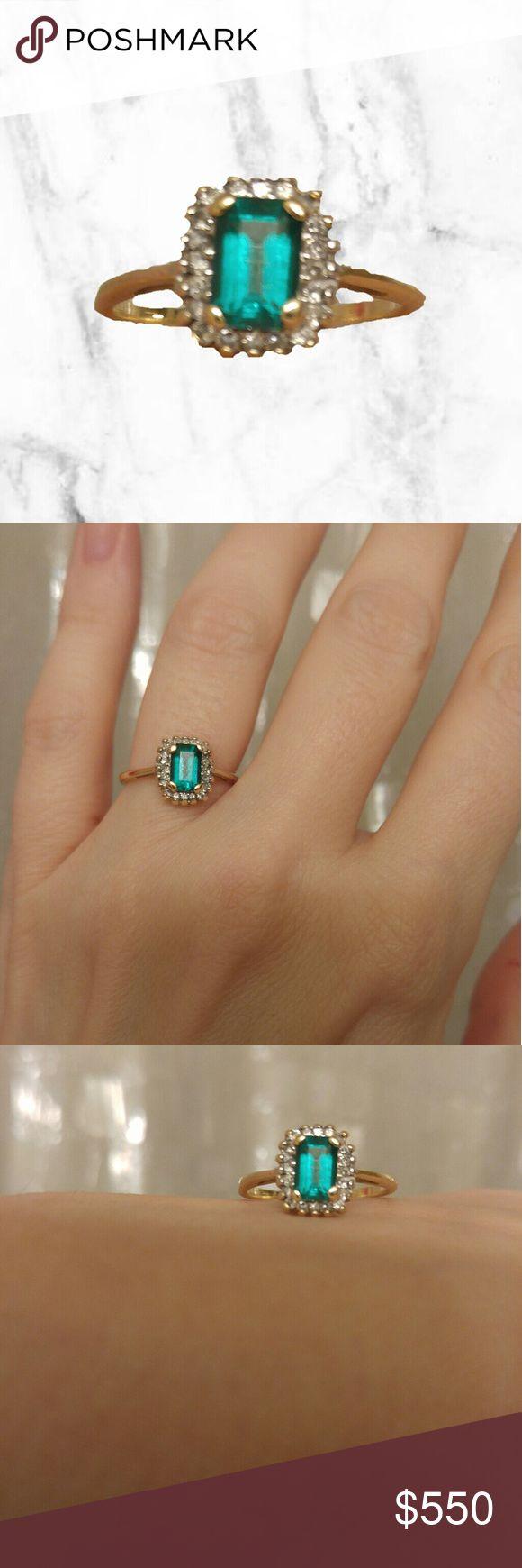 best 25 emerald rings ideas on