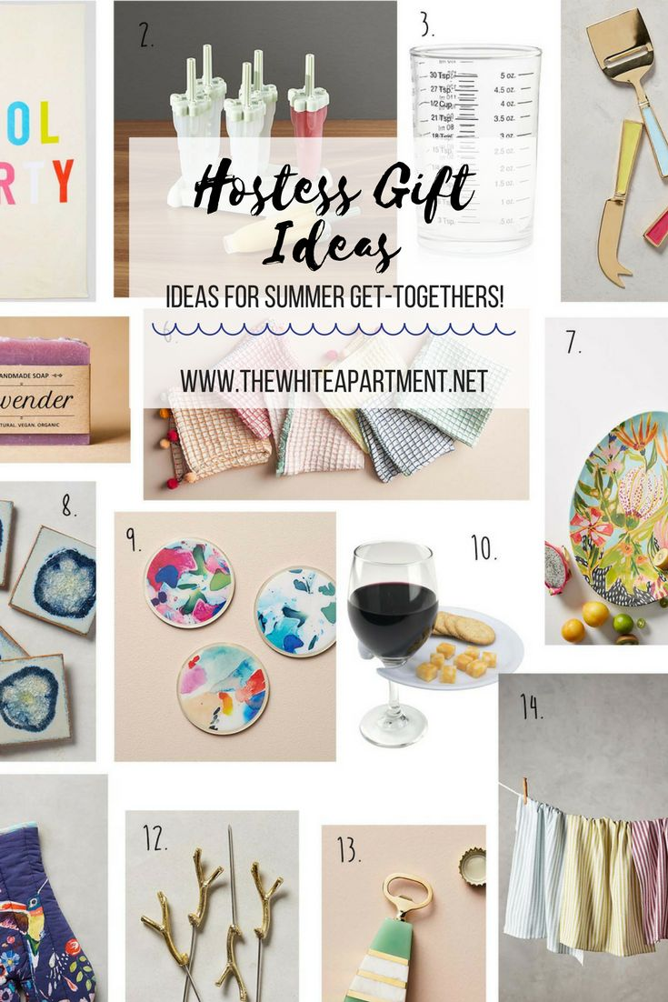 Summer Hostess Gift Ideas - The White Apartment