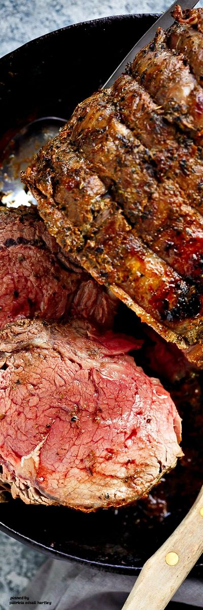 Italian Herb Prime Rib Roast