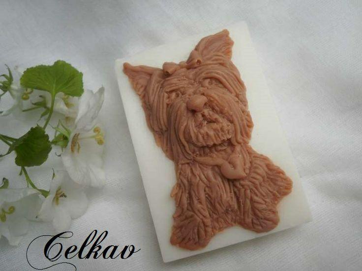 handmade soap Jorkšírský terier