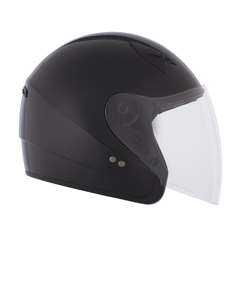 CKX 2015 - Motorcycle open face helmets - VG977 SOLID Black - ckxgear.com