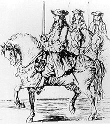 The Scottish Troop of Life Guards circa. 1685.