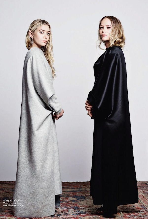 Olsens Anonymous Blog Mary Kate Ashley Olsen Harpers Bazaar September 2014 Black And Grey The Row photo Olsens-Anonymous-Blog-Mary-Kate-Ashl...