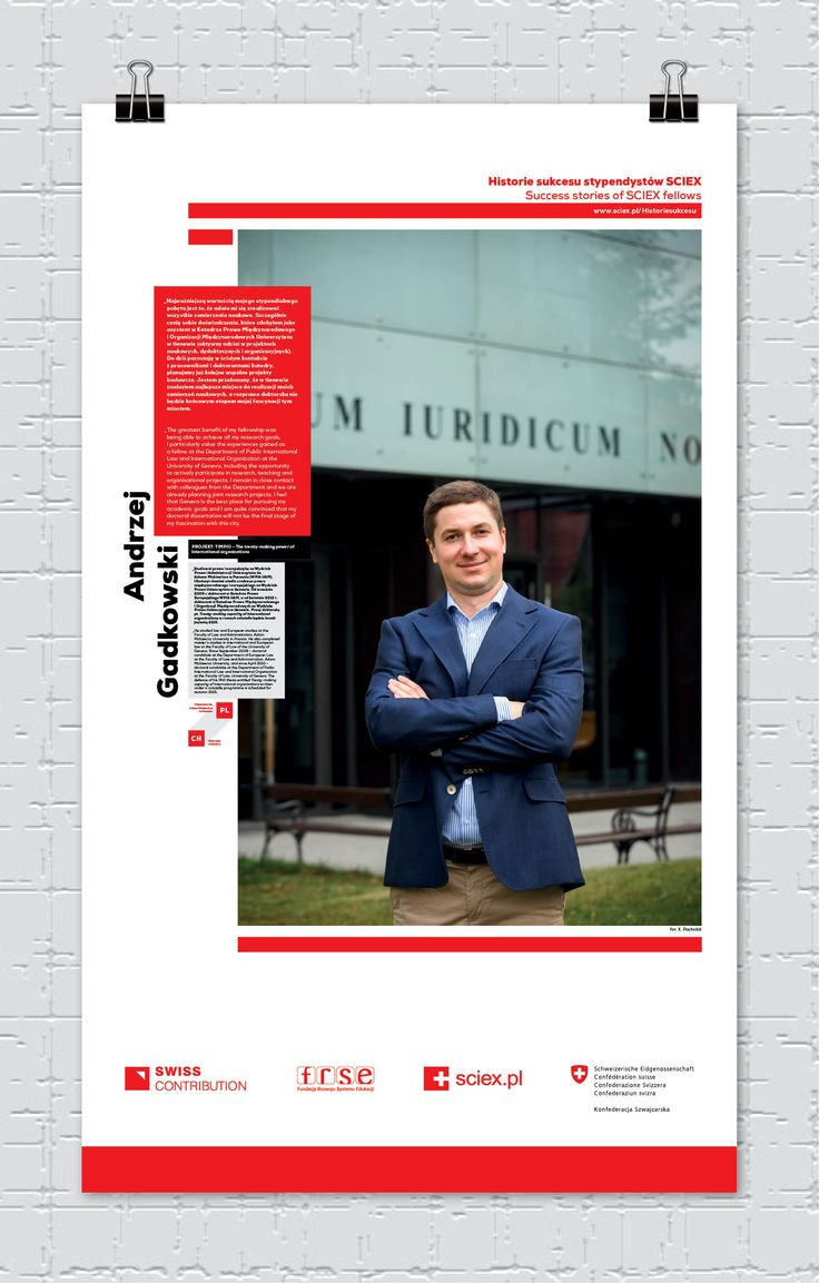 Andrzej Gadkowski, stypendysta SCIEX/ SCIEX fellow
